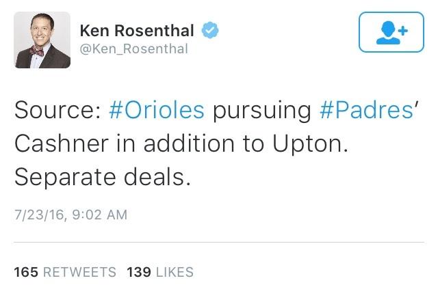 Rosenthal Tweet